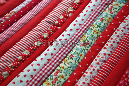 stoff stoffmuster patchwork muster rot gemustert