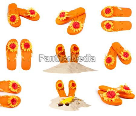 collection flip flops