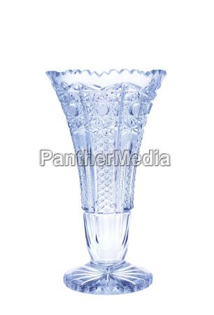 antique vase crystal