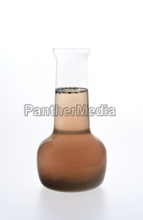 sample of dirty water isolated on
