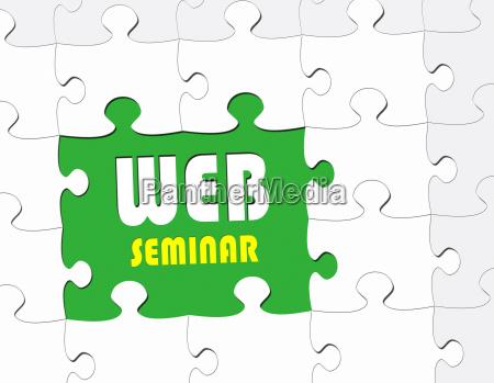 web seminar ebusiness concept