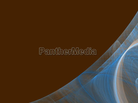 brown copy space with blue corner