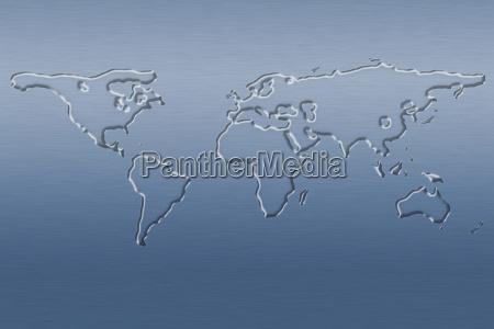 simulation globus planet erde terra welt