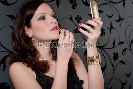cocktail party woman evening dress apply