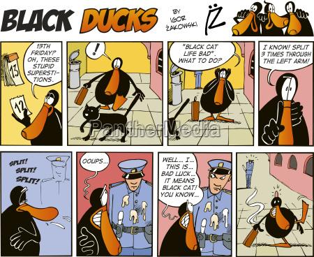 schwarz ducks comics folge 38
