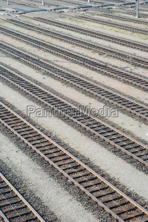 rail yard tracks