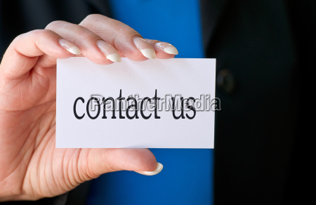 contact us business concept