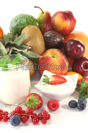 fruit yoghurt
