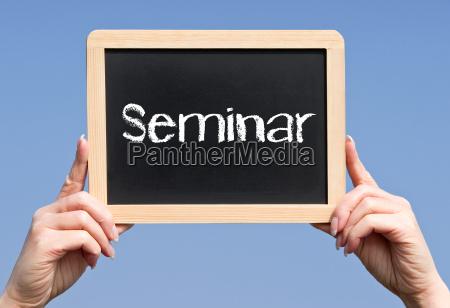 seminar business concept