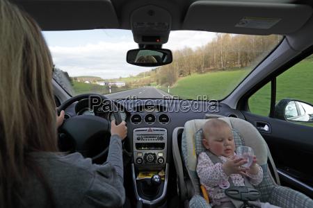 spostare con il bambino