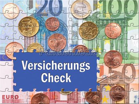 versicherungs check konzept vorsorge