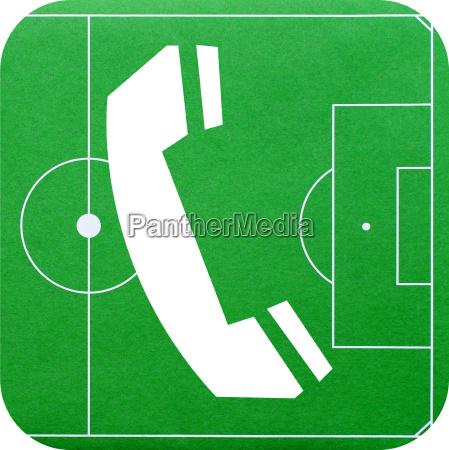soccer telephone fussball