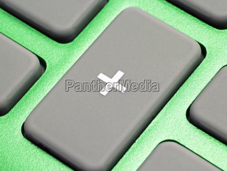 pocket calculator green plus