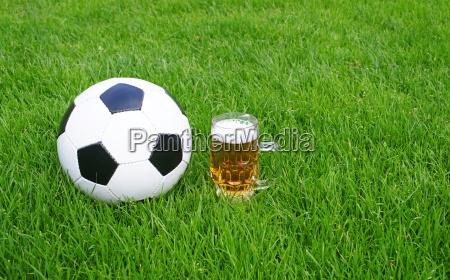 fussball und bier soccer and