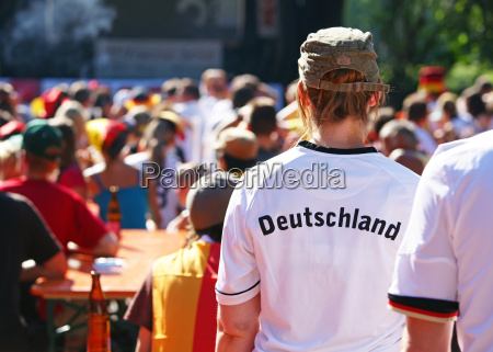 public viewing niemieccy fani