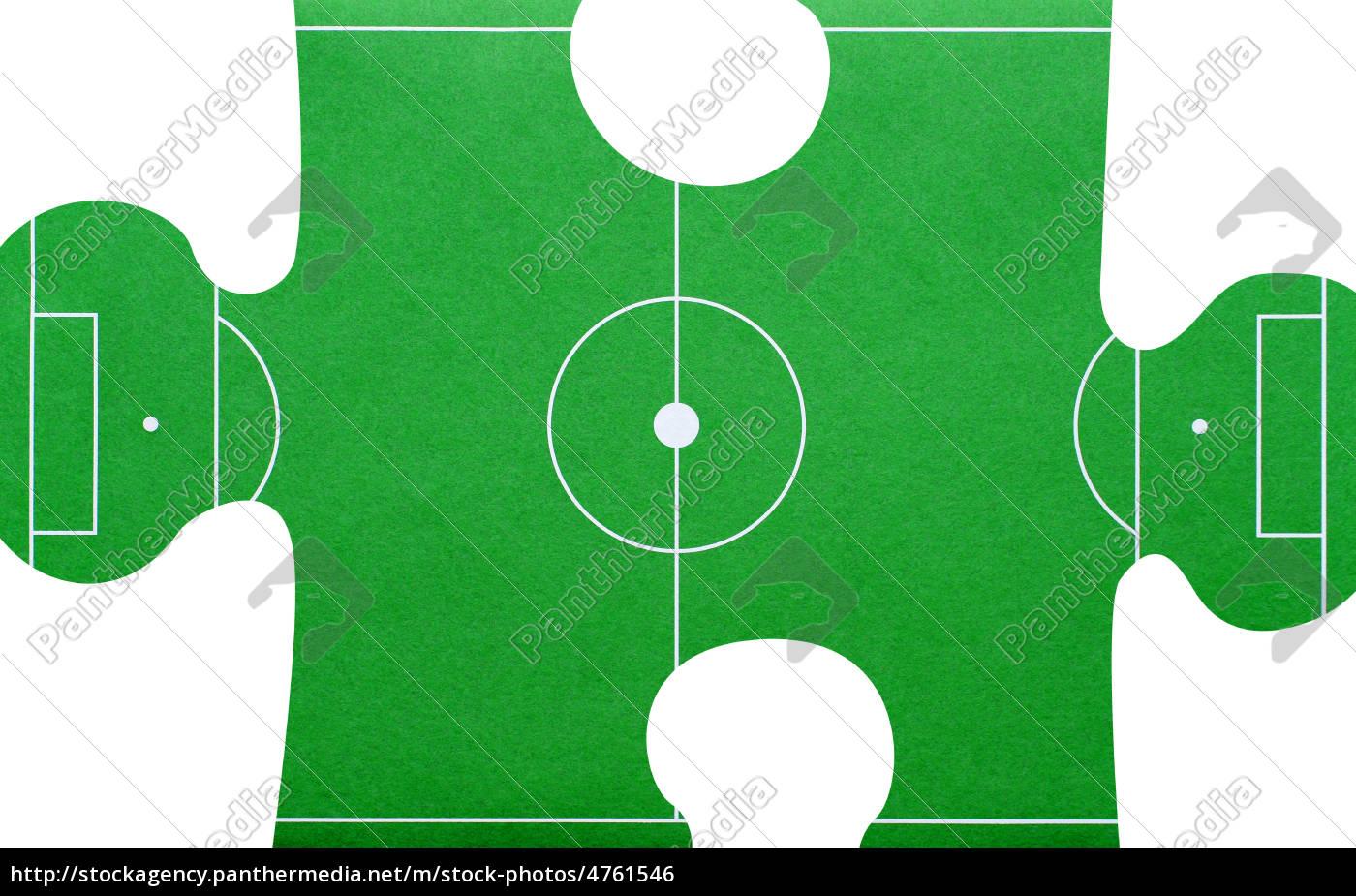 Stockfoto 4761546 Football Soccer Fussball Puzzle