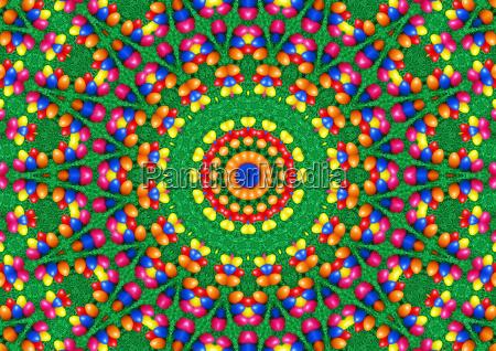 easter power color mandala