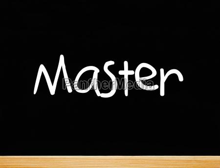 master concept final course