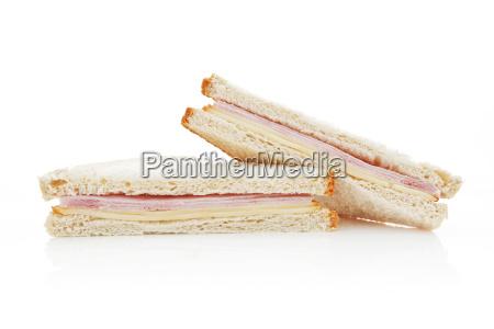 amerikanische sandwich isoliert