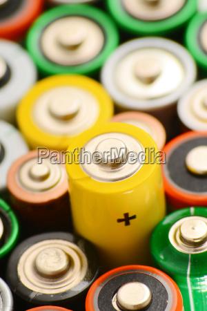 alkalische batterien