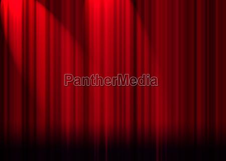 vorhaenge des roten theaters