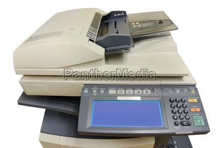 phtocopier frontansicht