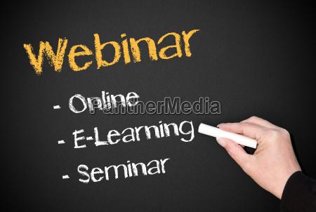 webinar online e learning seminar