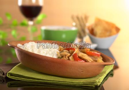 peruvian food called lomo saltado