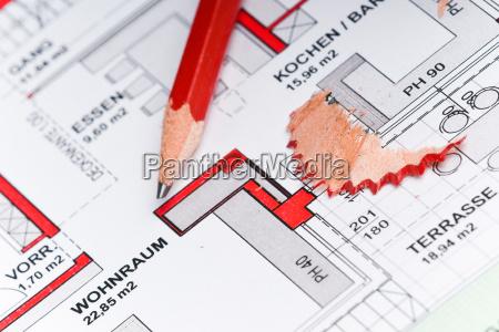 eigenheim, planung - 4864482