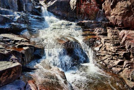 waterfall cascade in missouri