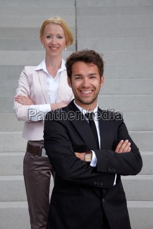business team mann und frau