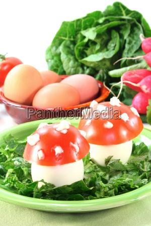 vegetarische kalte platte