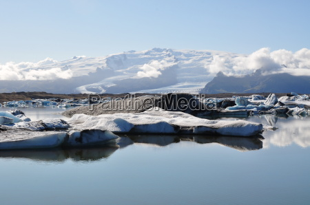 island gletscher naehe skaftafell