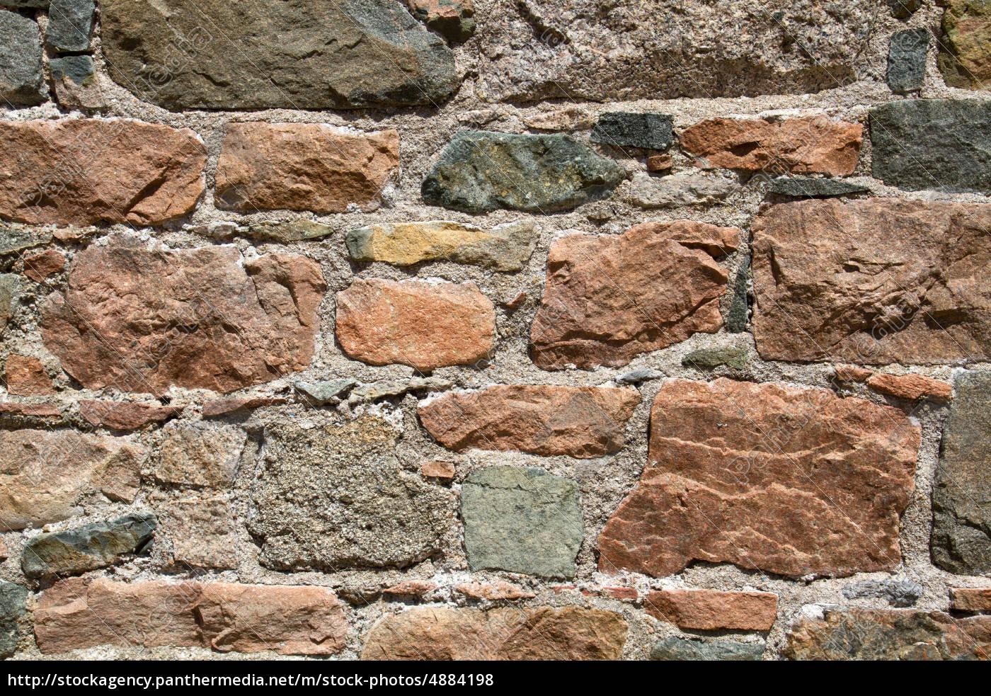 Stockfoto 4884198   Alte Steinwand Auf Der Insel Jersey UK