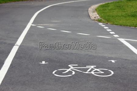 fahrrad strassenschild