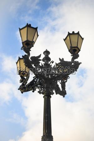 strassenlampe hochformat