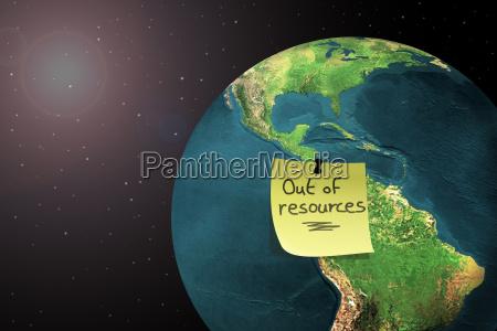umwelt wachstum globus planet erde terra