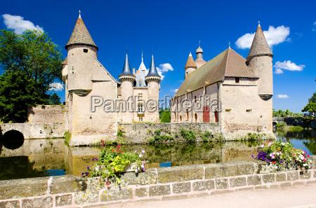 chateau de la clayette burgunder frankreich