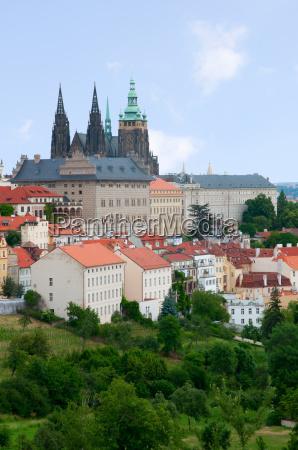 prager burg tschechische republik