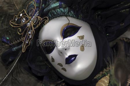 venezianischen karneval maske