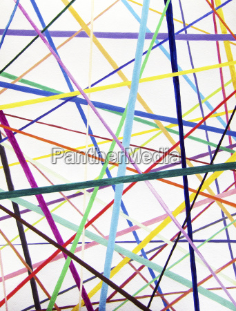 color lines variety background watercolor painting
