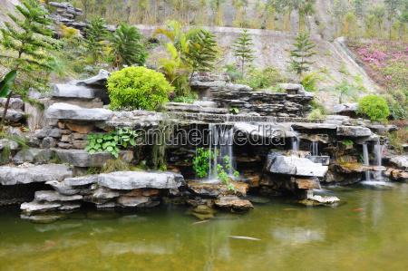 park garten stein porzellan chinese suesswasser