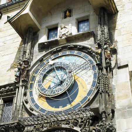 horloge altes rathaus prag tschechische republik