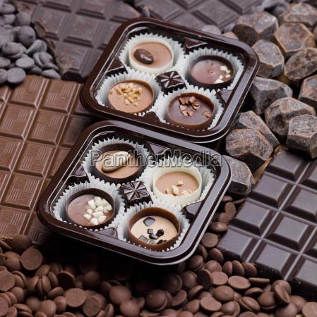 schokolade stillleben