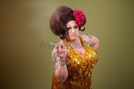 drag queen rauchen