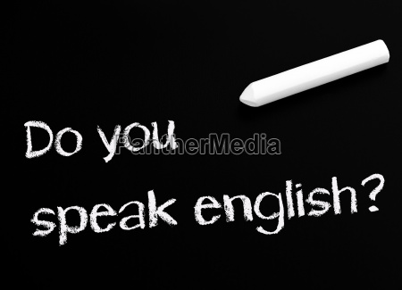 do you speak english
