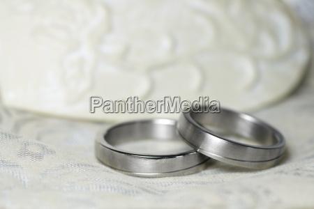 wedding rings silver