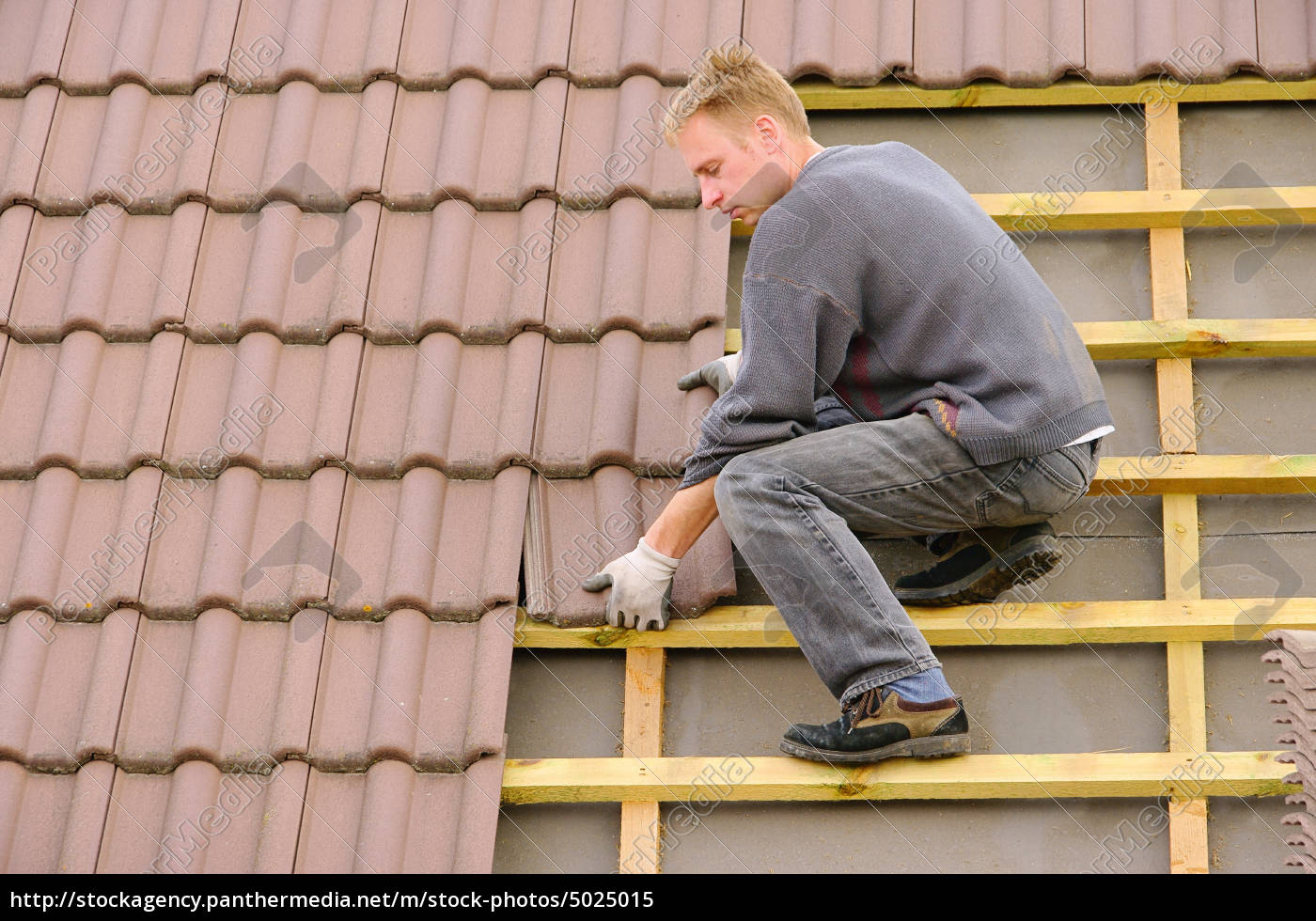 dach, decken, -, tile, roof, covering - 5025015