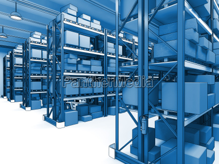 warehouse 3d