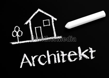 architect chalk table